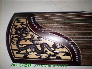 龍鳳古箏6002,浮雕雅麗軒樂器特價出售